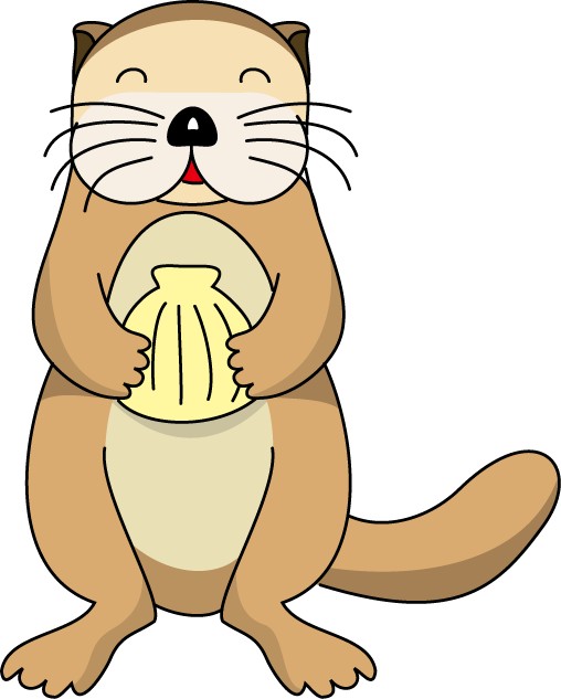 Sea Otter Clipart Images
