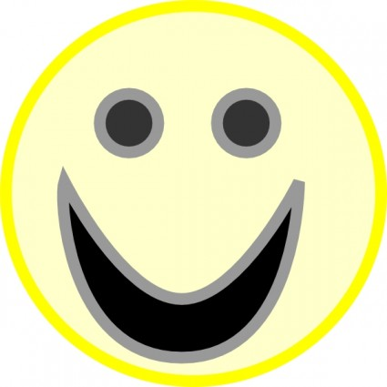 Smiley Face Clip Art Free Vector In Open Office Drawing