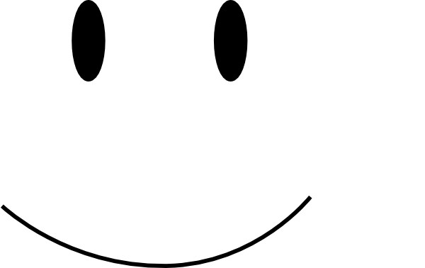 Smiley Face Clipart Black And White Free Clipart