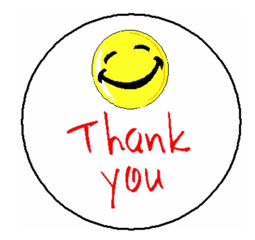 Smiley Face Thumbs Up Thank You Images