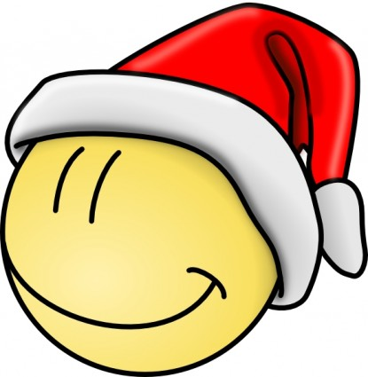 Smiley Santa Face Clip Art Free Vector In Open Office Drawing