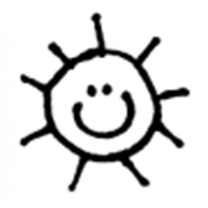Smiley Sun Outline Images