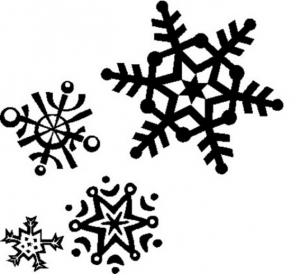 Snowflake Clip Art Item Vector Magz Free Download Vector