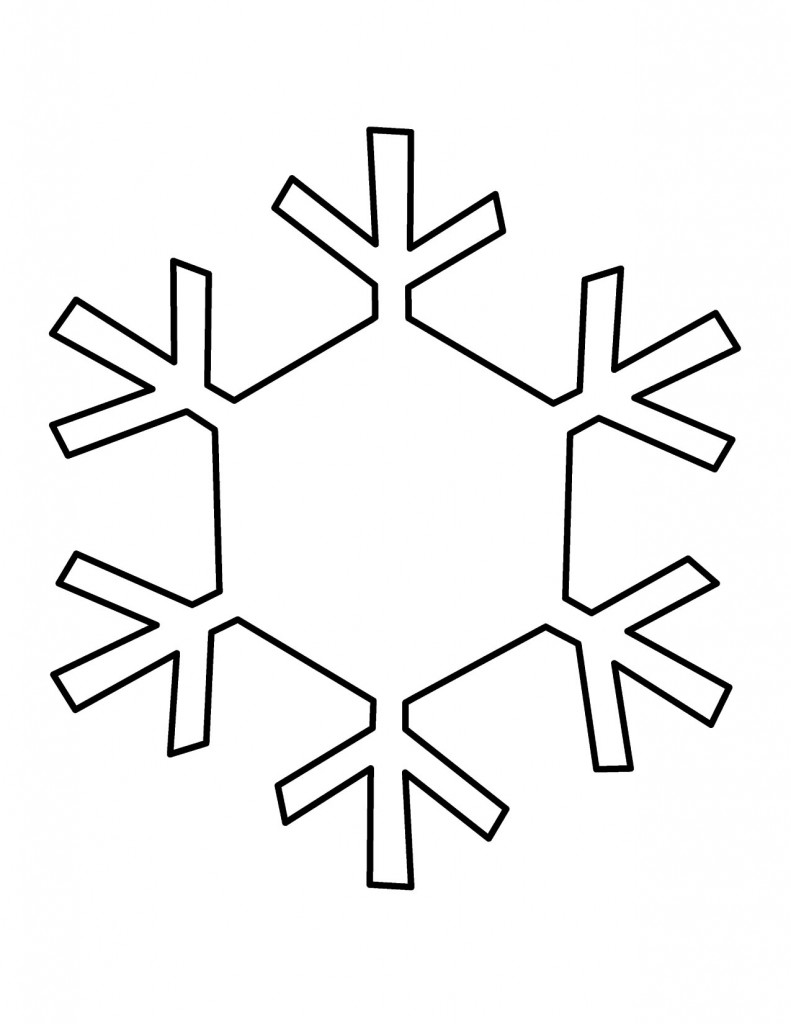 Snowflake Clipart Free Large Images