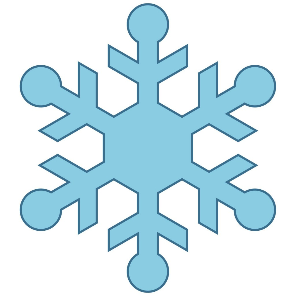Snowflake Clipart Simple Images