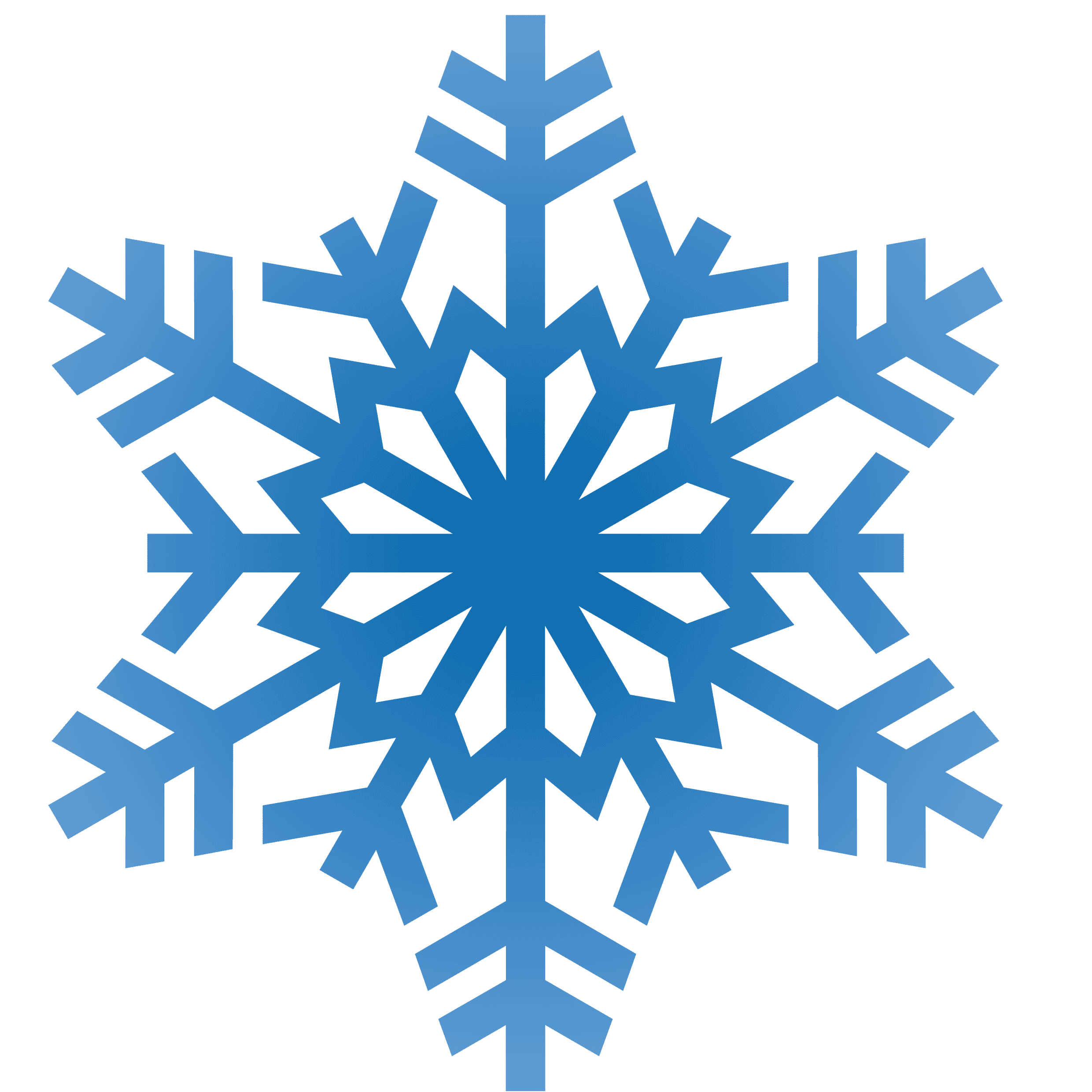 Snowflake Clipart Transparent Background Free