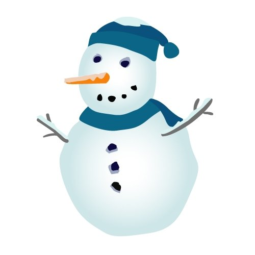Snowman Clip Art Free Vector Free Clipart Images