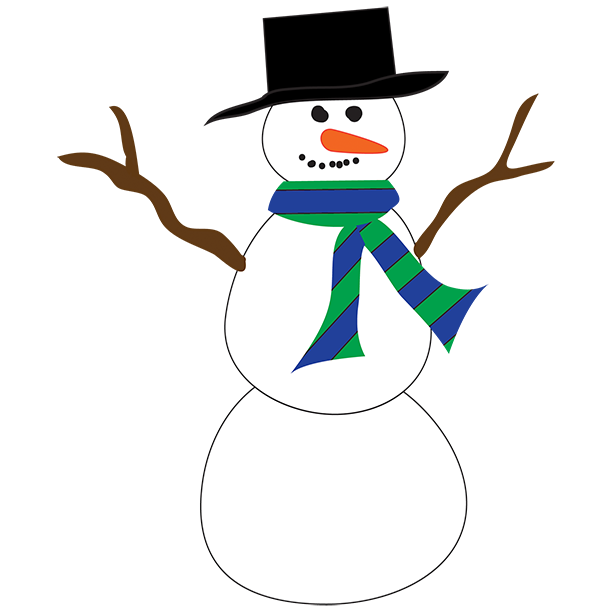 Snowman Clip Art Holidays Cleanclipart
