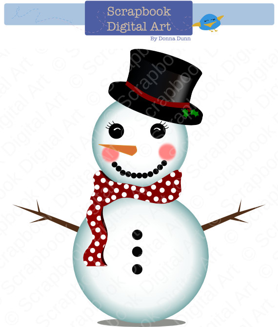Snowman Clipart Free Free Clipart Images