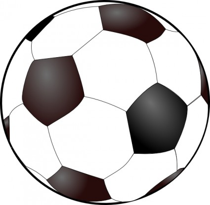 Soccer Ball Clip Art Free Vector In Open Office Drawing
