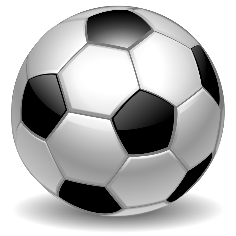 Soccer Ball Clip Art Sports Cleanclipart