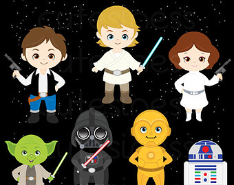 Space Wars Clipart Etsy