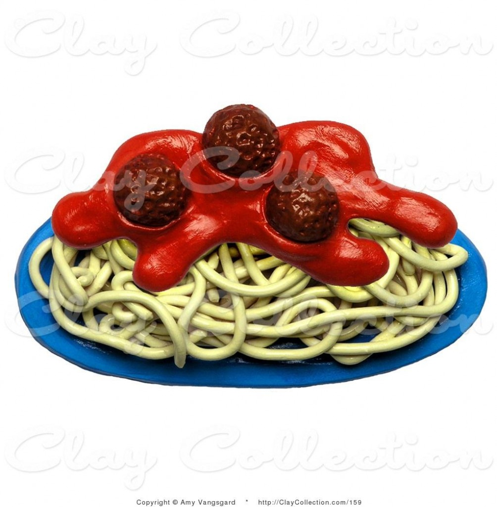 Spaghetti And Meatballs Free Clipart Free Clip Art Images