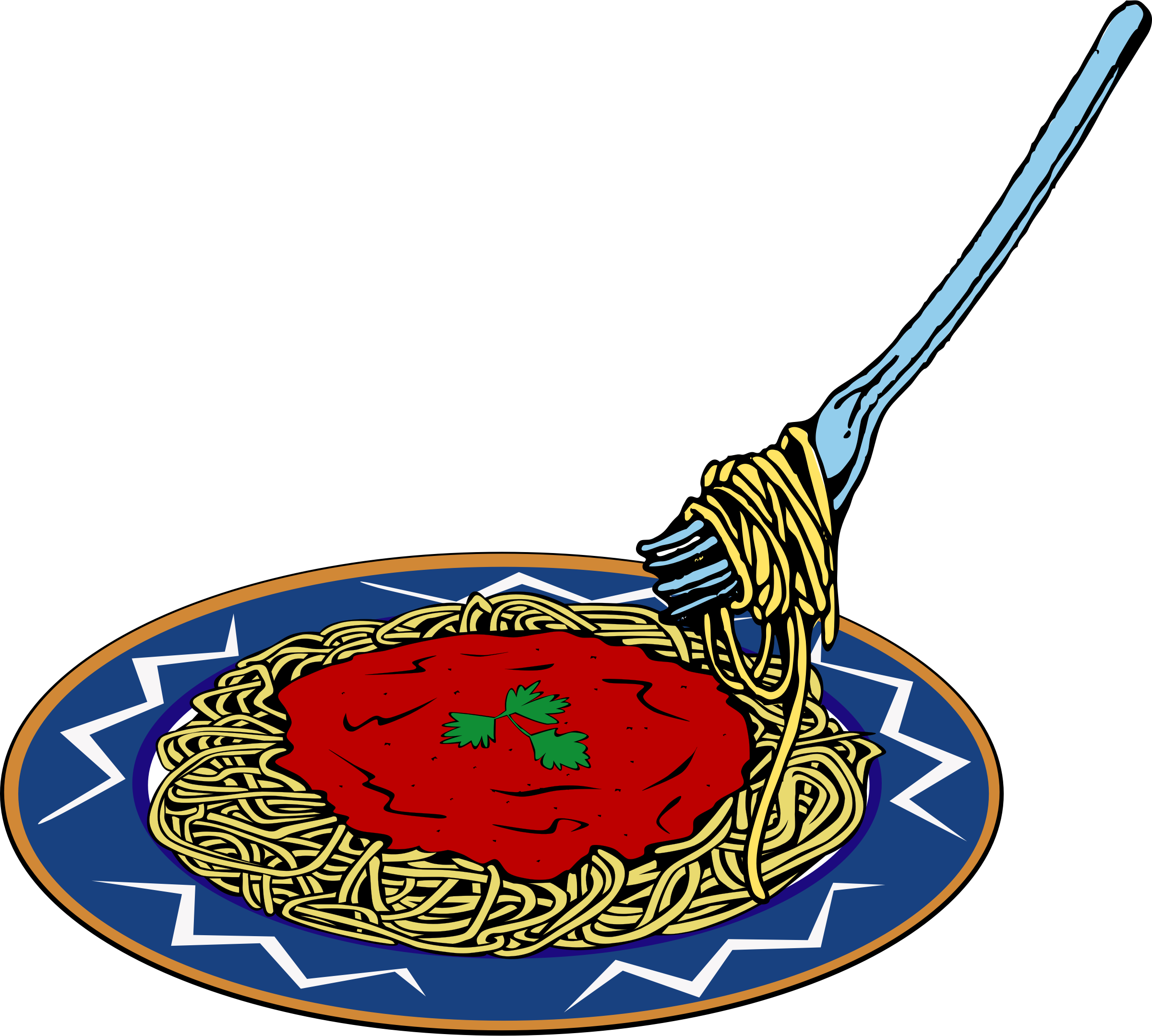 Best Spaghetti Clipart #1843 - Clipartion.com