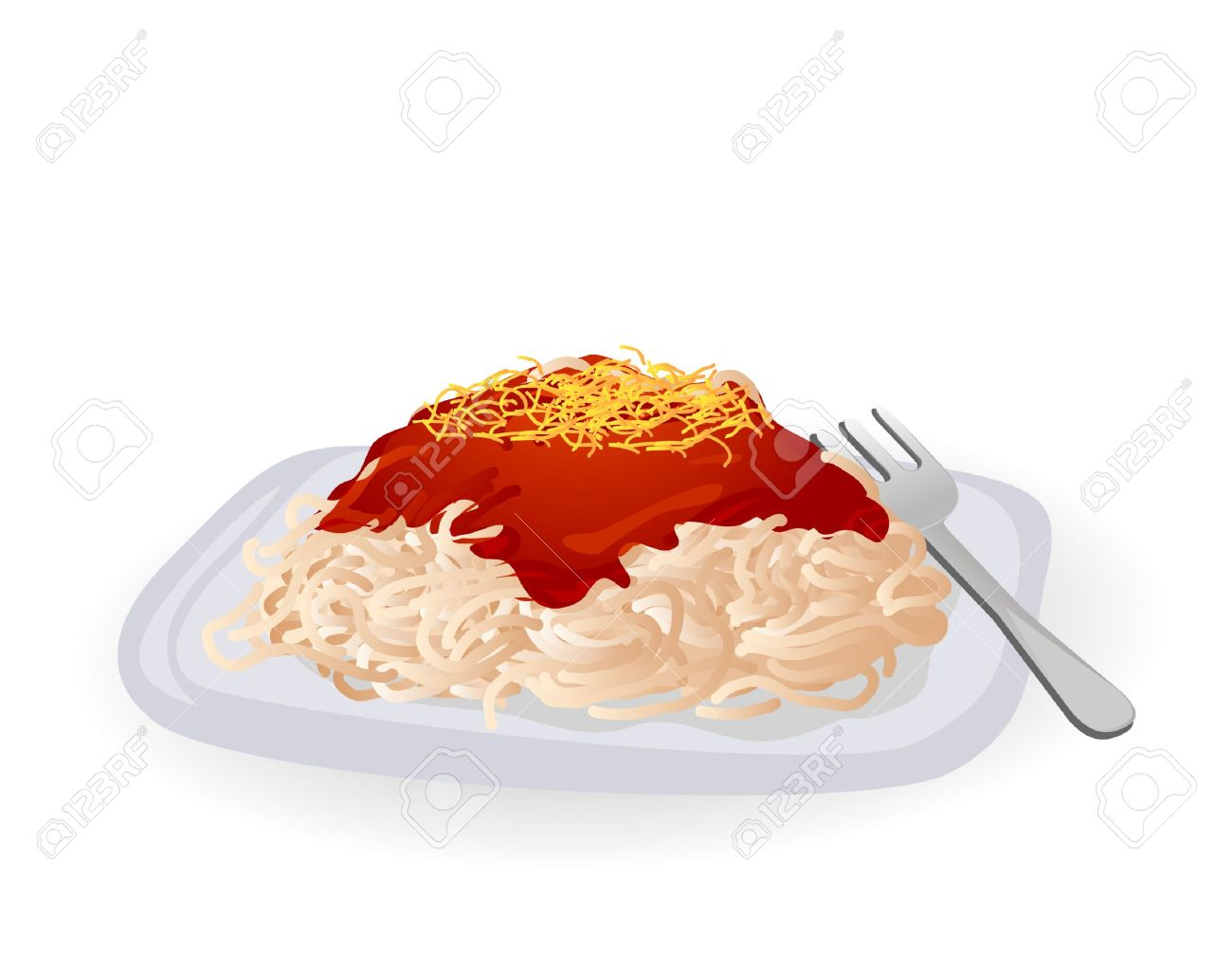 Best Spaghetti Clipart #1850 - Clipartion.com