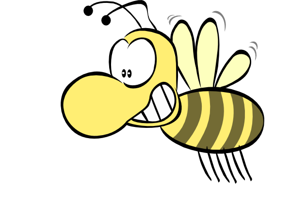 Spelling Bee Clipart Black And White Free