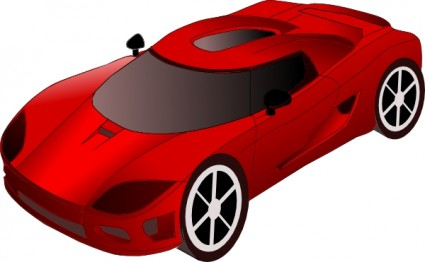 Sports Car Clip Art Free Vector In Open Office Drawing Svg Svg