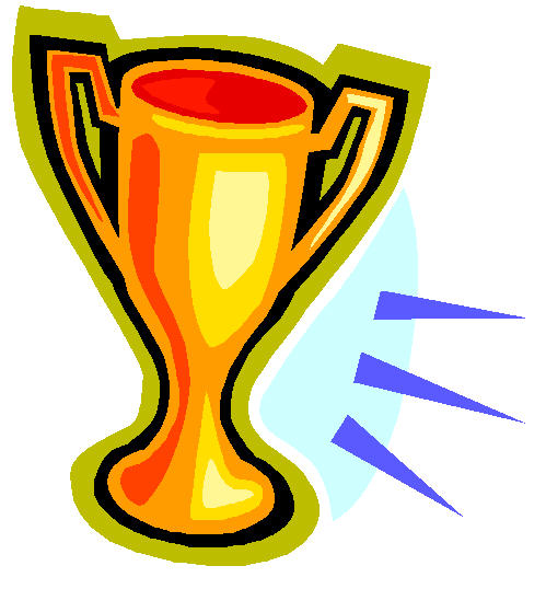 Sports Trophy Clipart