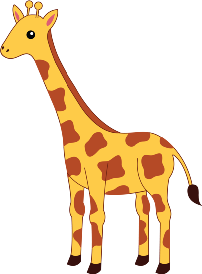 Spotted Yellow Giraffe Clipart Free Clip Art Images