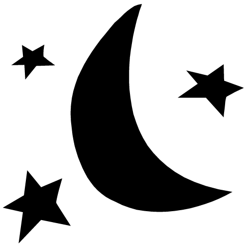 Star And Moon Clip Art