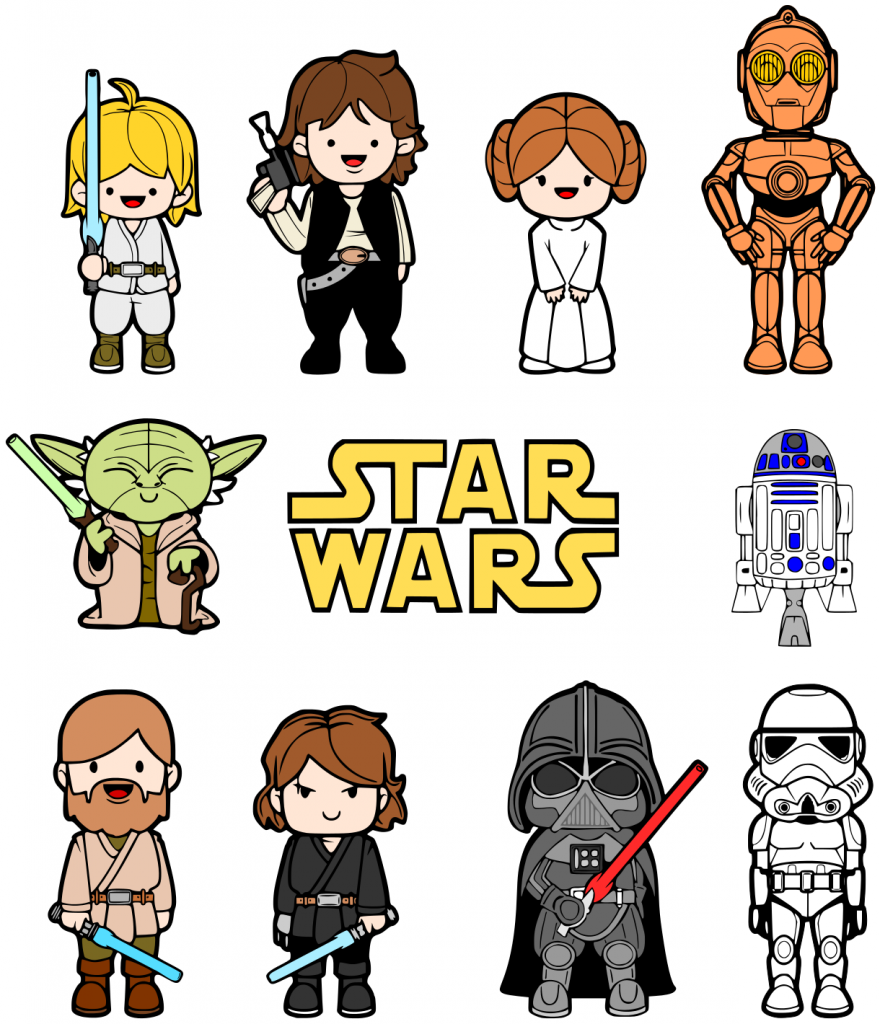 star wars clip art. Black Bedroom Furniture Sets. Home Design Ideas