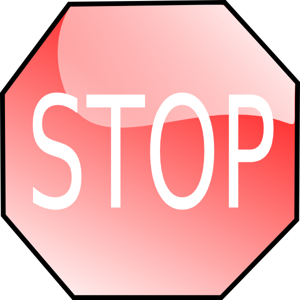 Stop Sign Clip Art Free Vector 4vector
