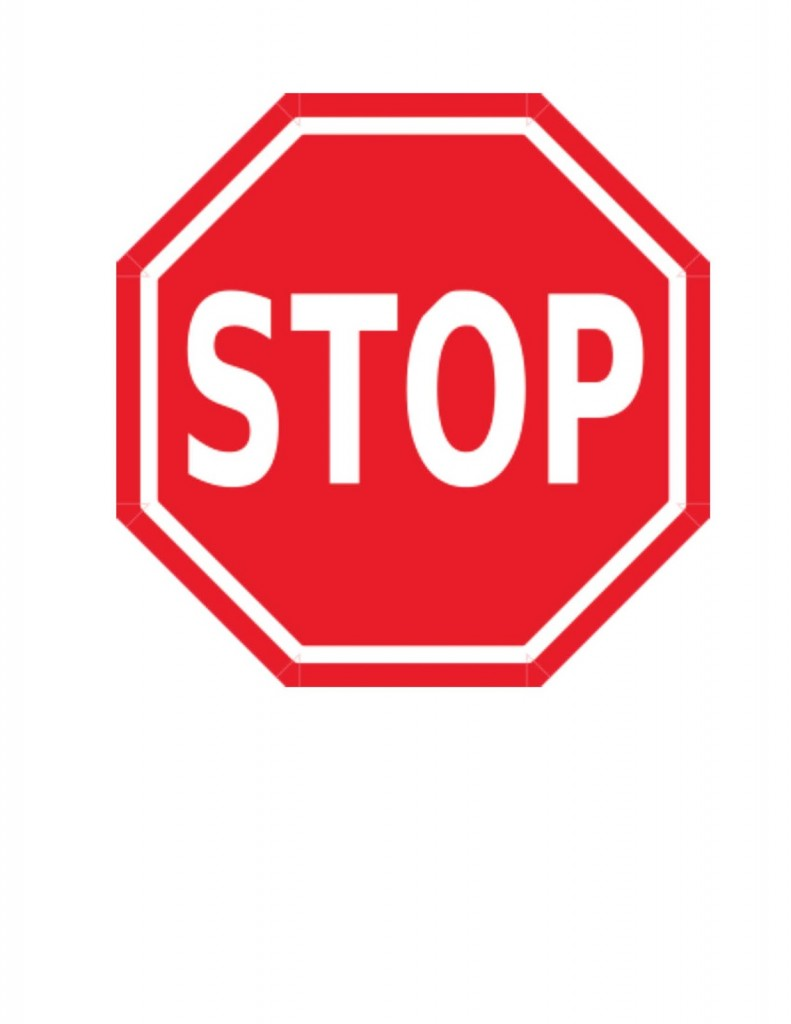 Stop Sign Hand His And A Clipart Free Clip Art Images