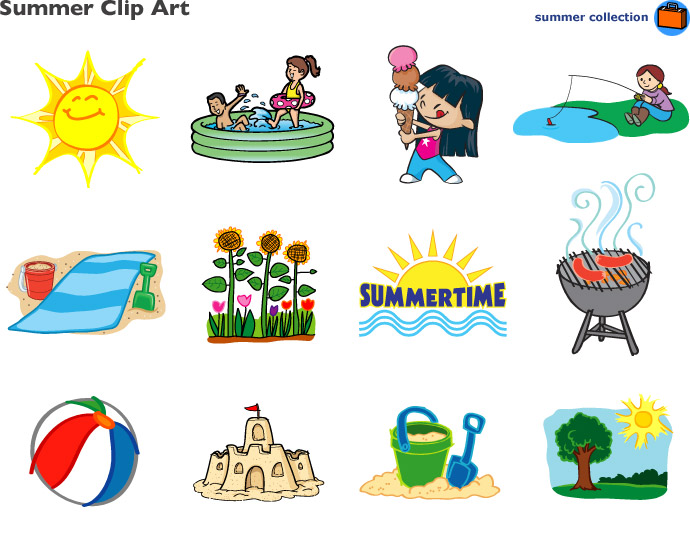 Summer Clip Art At Lakeshore Learning