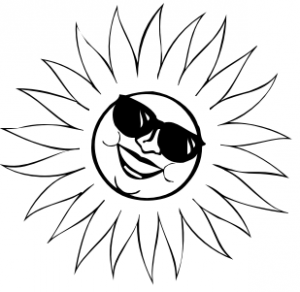 Sun Clipart Black And White Item 1 Vector Magz Free Download