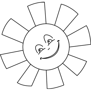 Sun Line Art Clipart Cliparts Of Sun Line Art Free Download Wmf