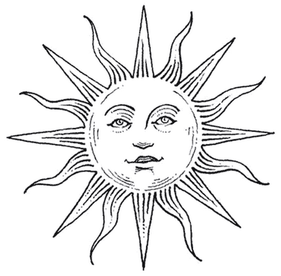 Sun Tattoo Images Amp Designs