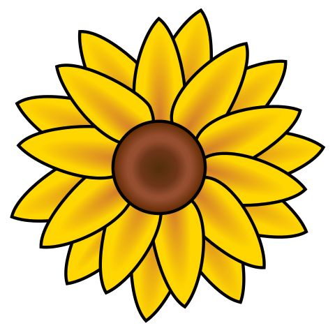 Sunflower Clip Art Free Printable Free Clipart