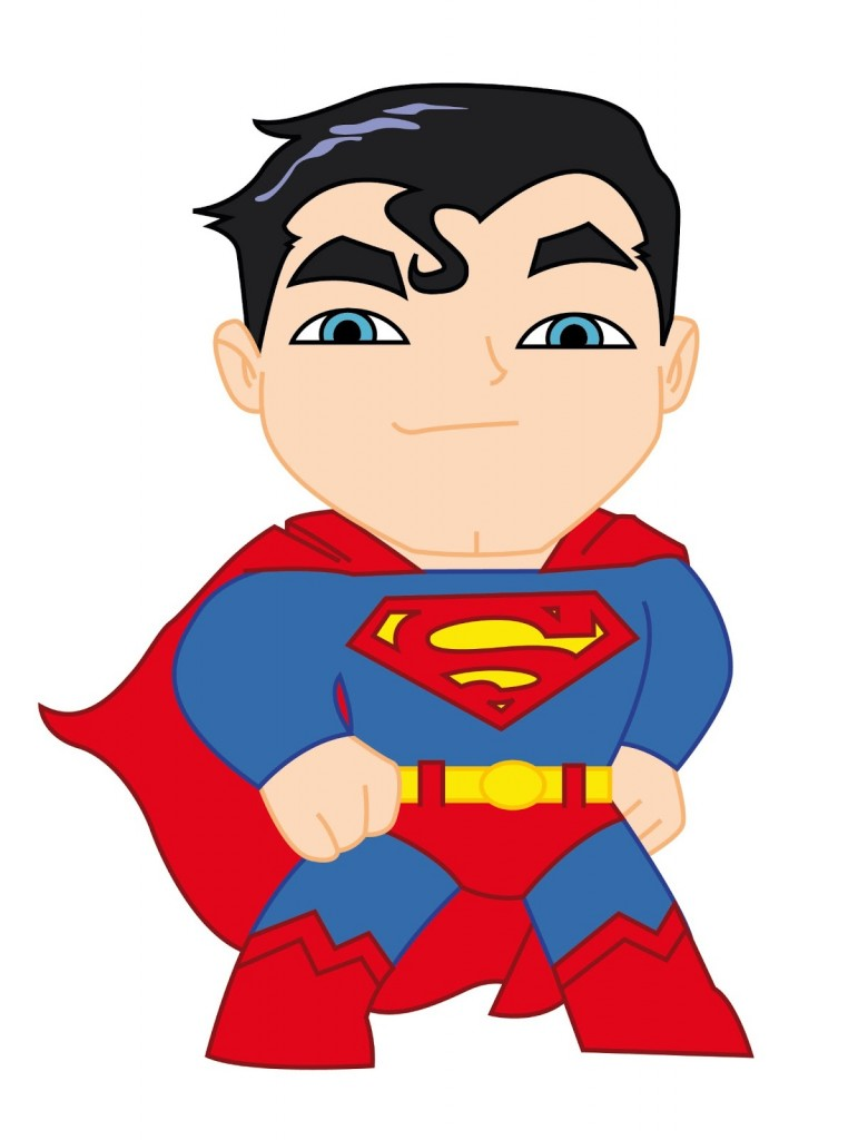 Superman Background Cute Superman Chibi Important Wallpapers