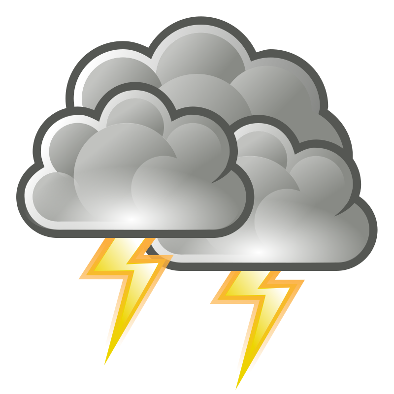Tango Weather Storm Clip Art Download
