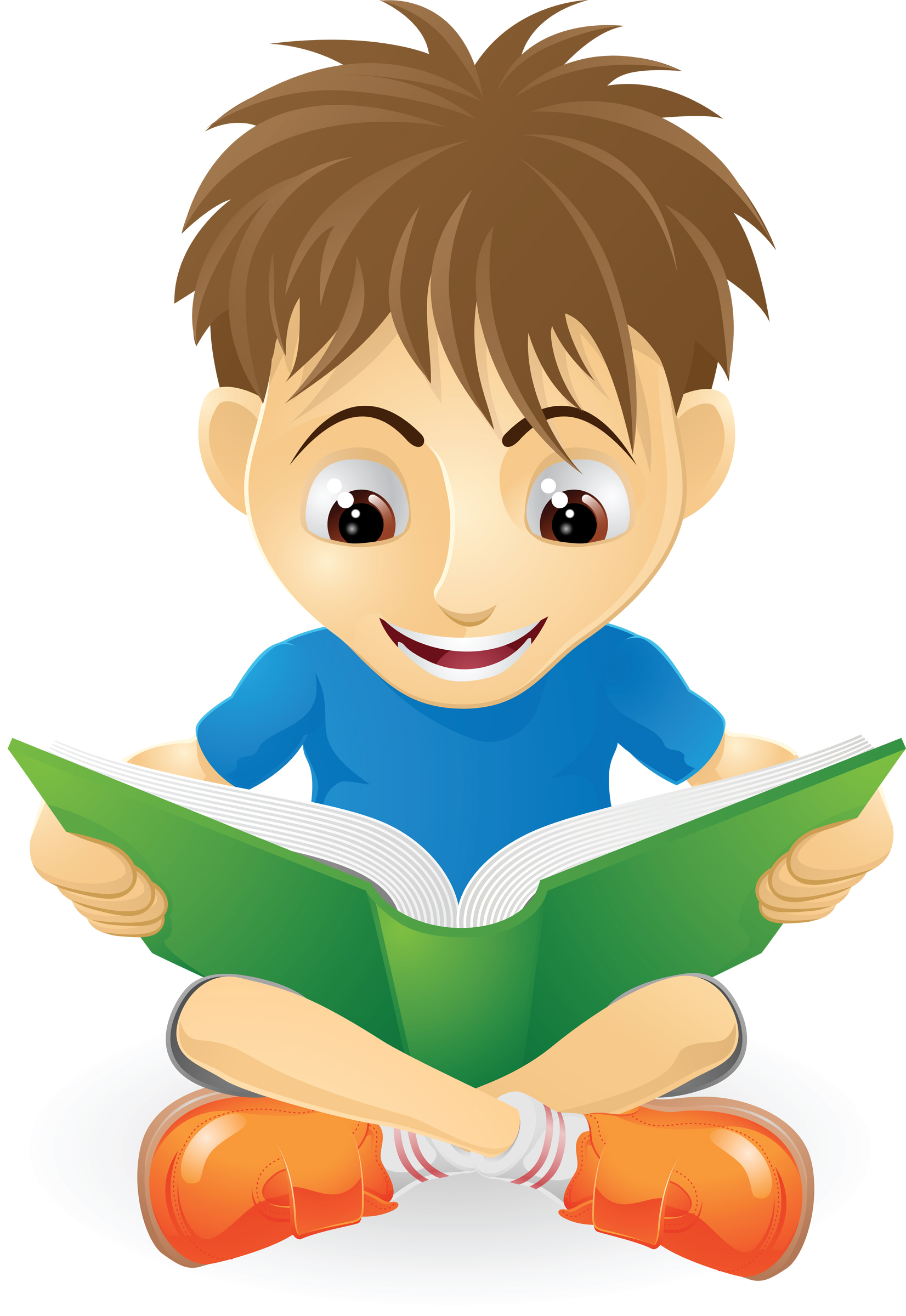 Teenage Boy Studying Clipart Reading Clipart Free Clipart
