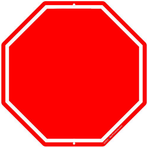 Template For Stop Sign