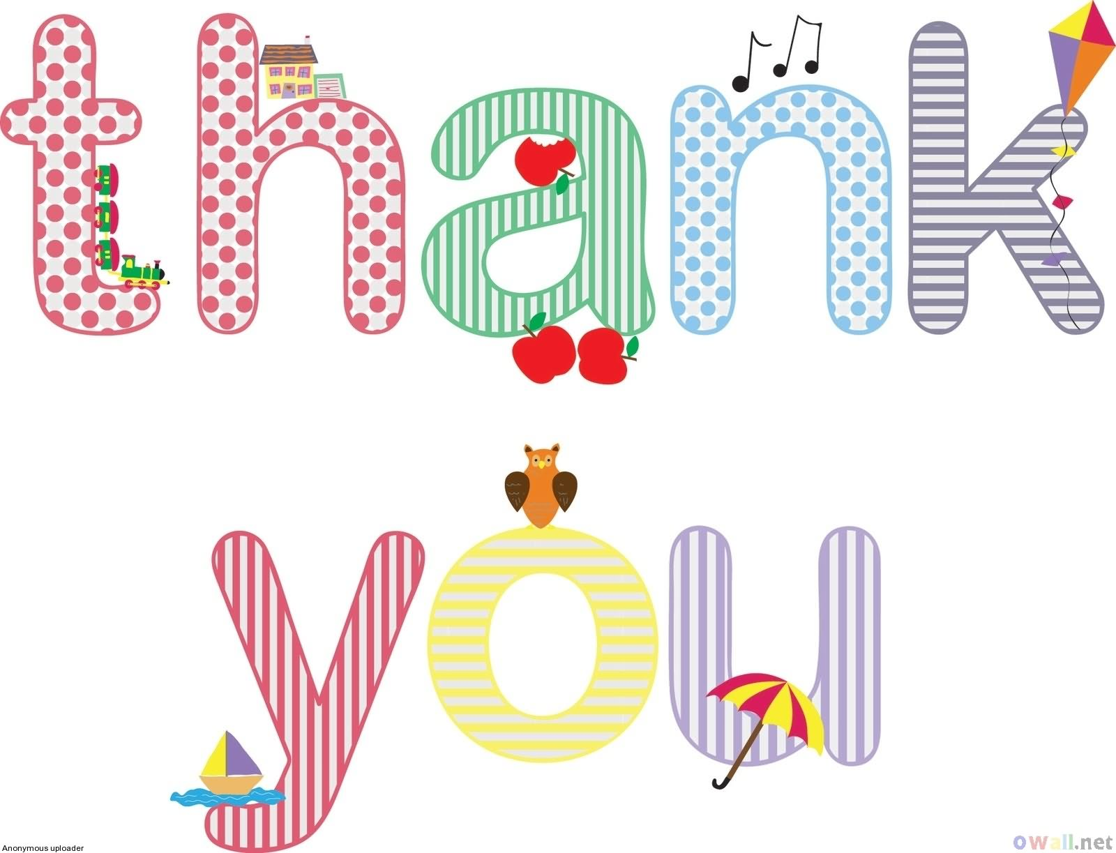 Thank You Clip Art Holidays Cleanclipart