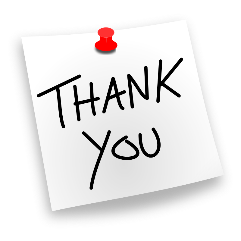 Thank You Clipart Free Large Images