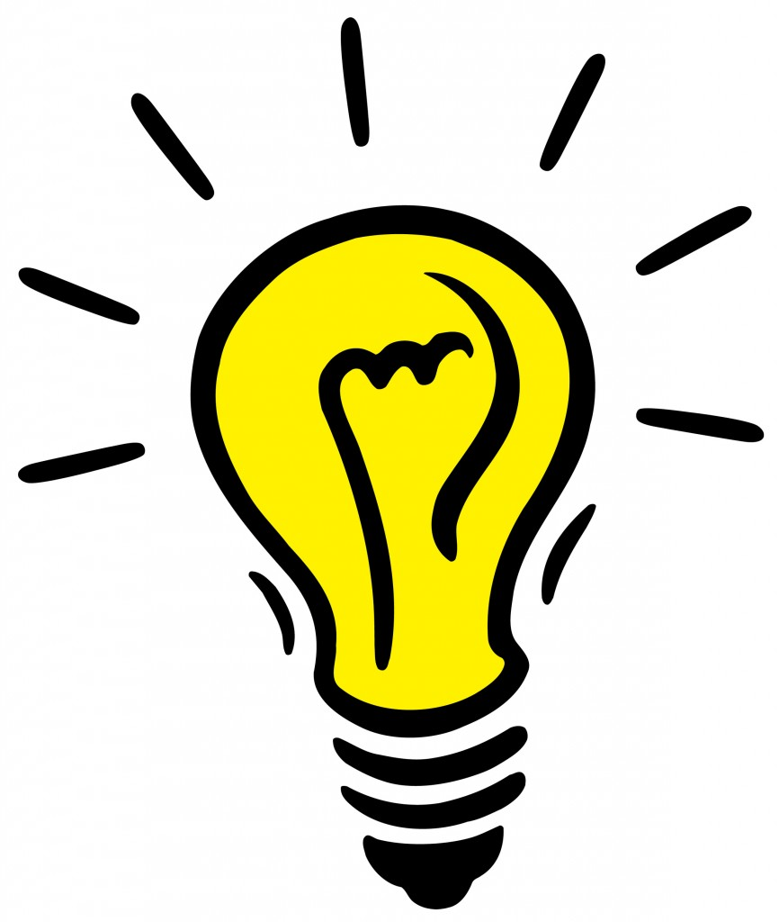 Thinking Light Bulb Clip Art Free Clipart Images