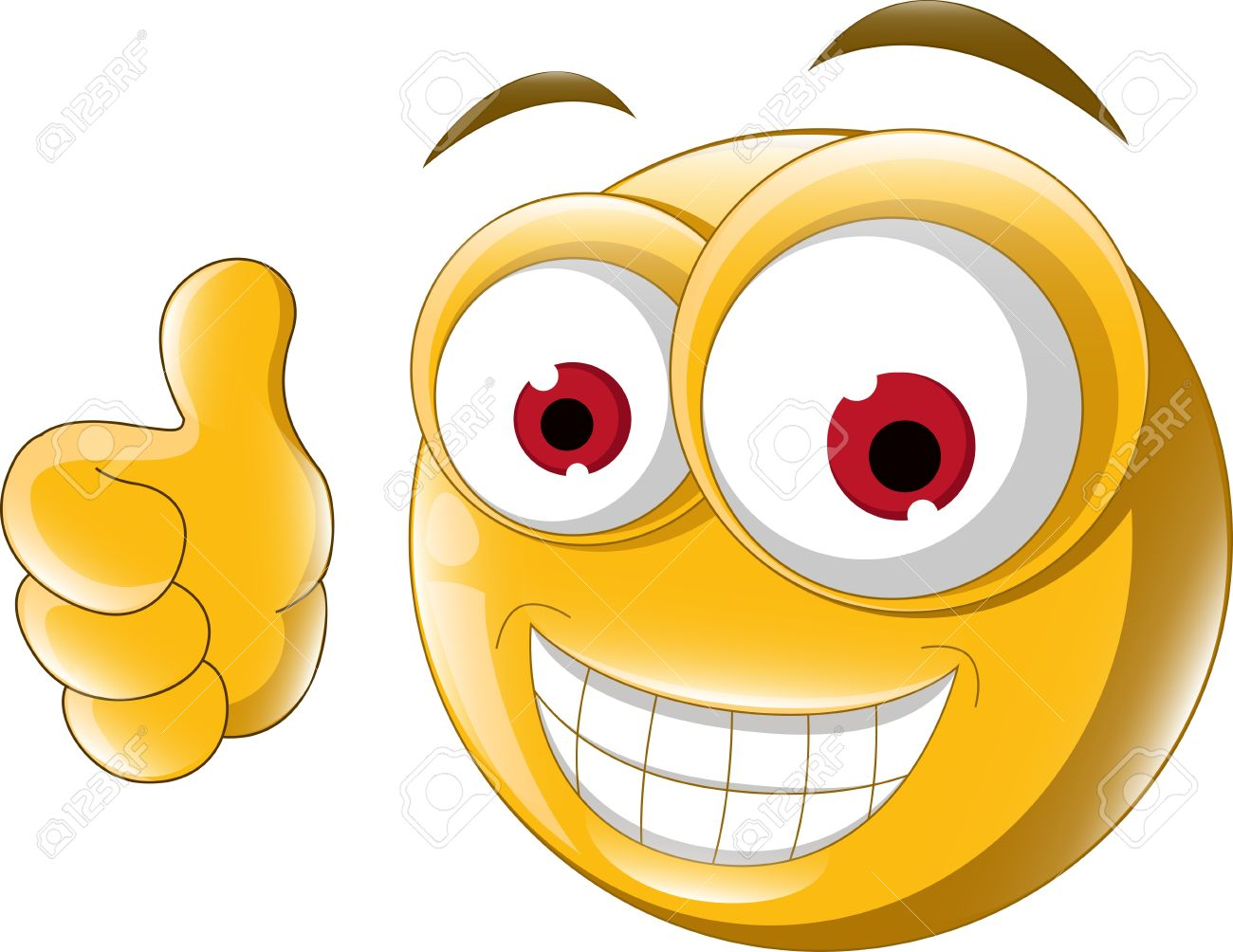 best smiley face thumbs up 1735 clipartion com Sad Face Clip Art Free Emoticon Images Clip Art Black and White