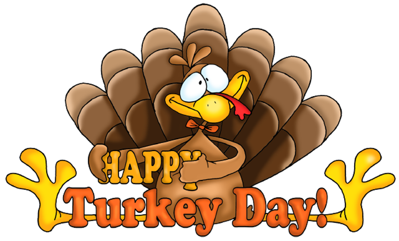 Transparent Happy Turkey Day Clipart Png