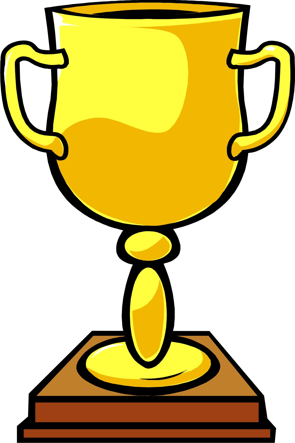 Trophy Clip Art Free Free Clipart Images