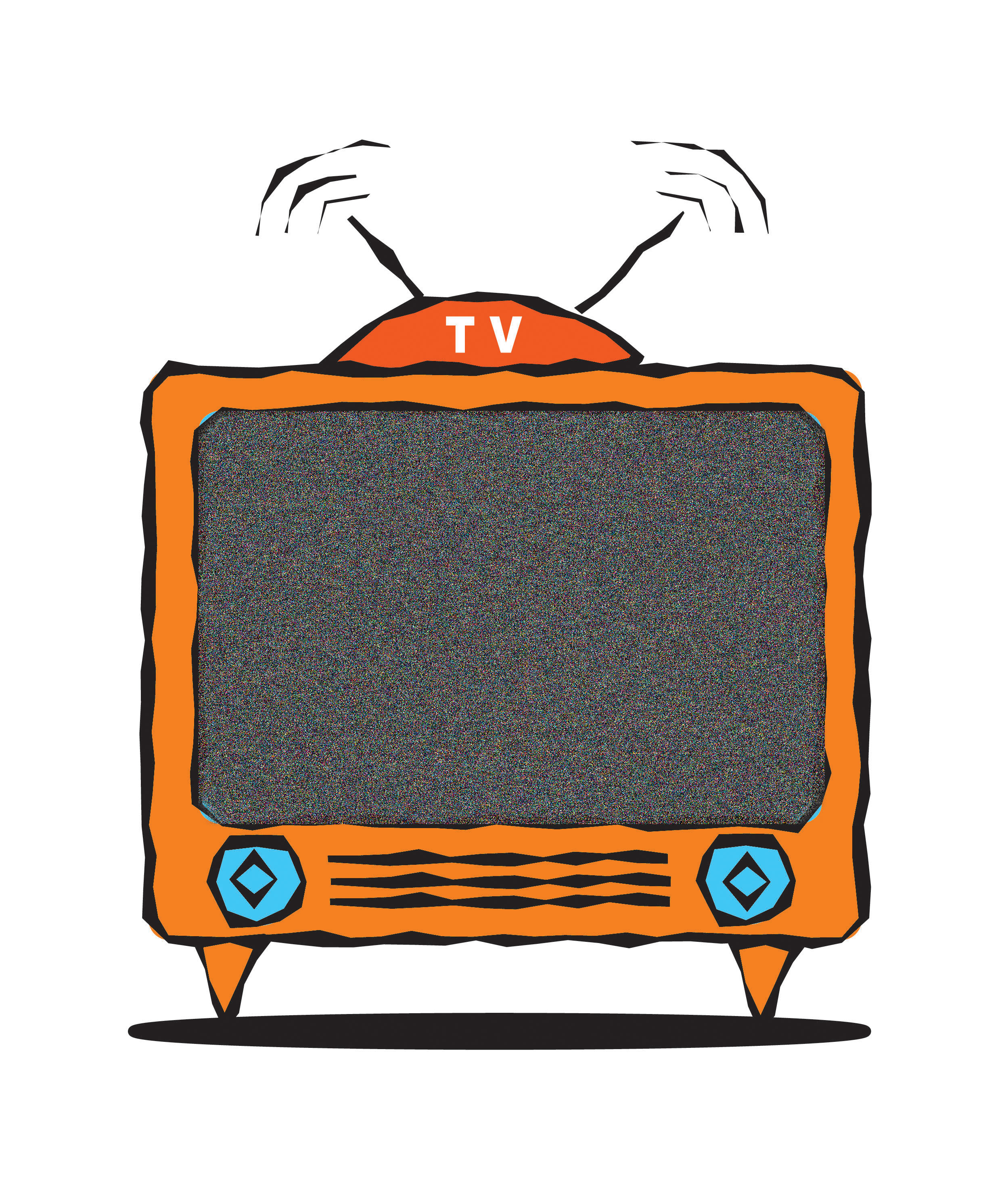 Tv And Radio Stock Illustrations Clipart Free Clip Art Images