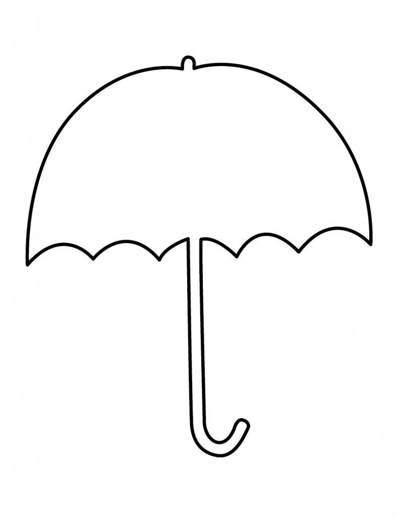 Umbrella Clipart Black And White Best Umbrella C...