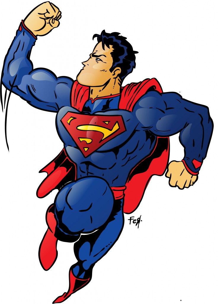 superman birthday clipart - photo #40