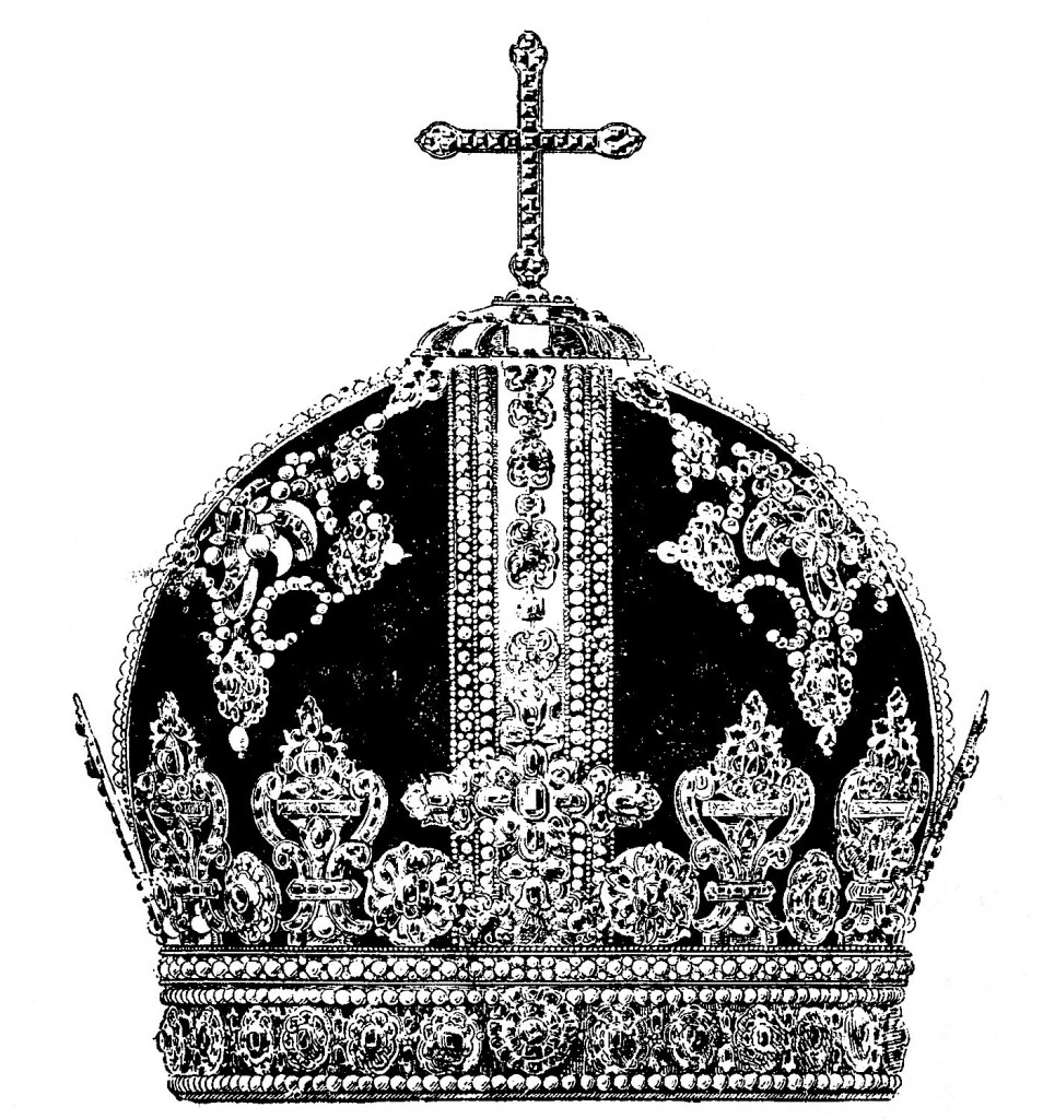 Vintage Clip Art Antique Crown Black And White The Graphics