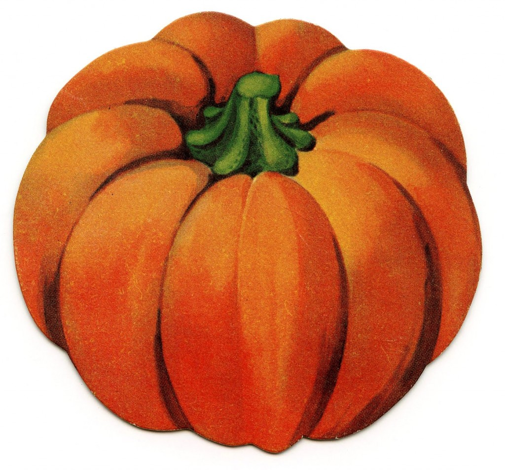 Vintage Halloween Clip Art Cute Little Pumpkin The Graphics Fairy