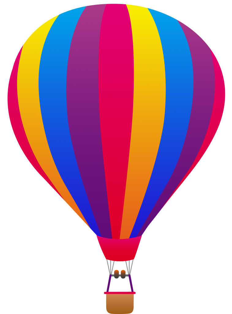 Vintage Hot Air Balloon Clip Art Free Clipart Images