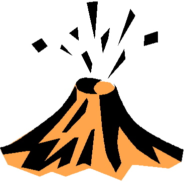 Volcano Clipart Black And White Free Clipart Images