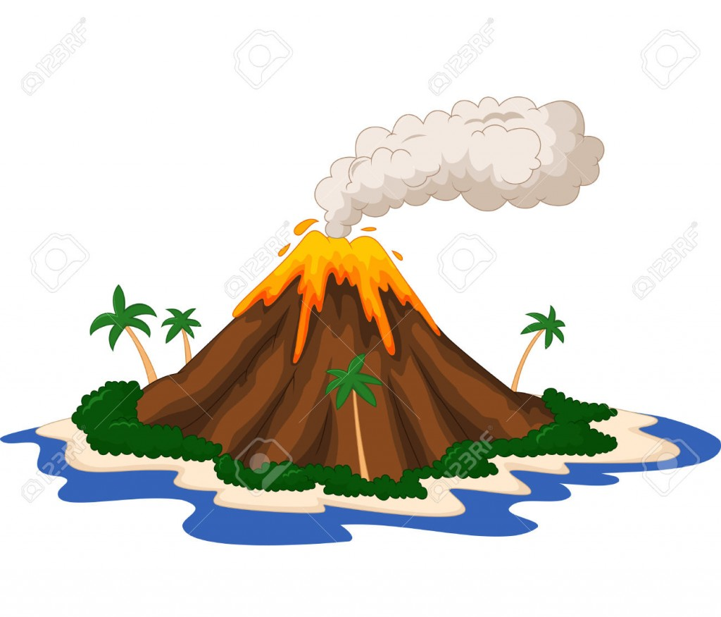 Volcano Clipart Wallpapers Background